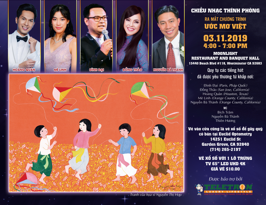 Ước Mơ Việt- Chiếu Nhạc Thính Phòng Gây Quỹ 2019